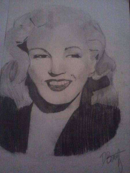 Marilyn Monroe by desgrace
